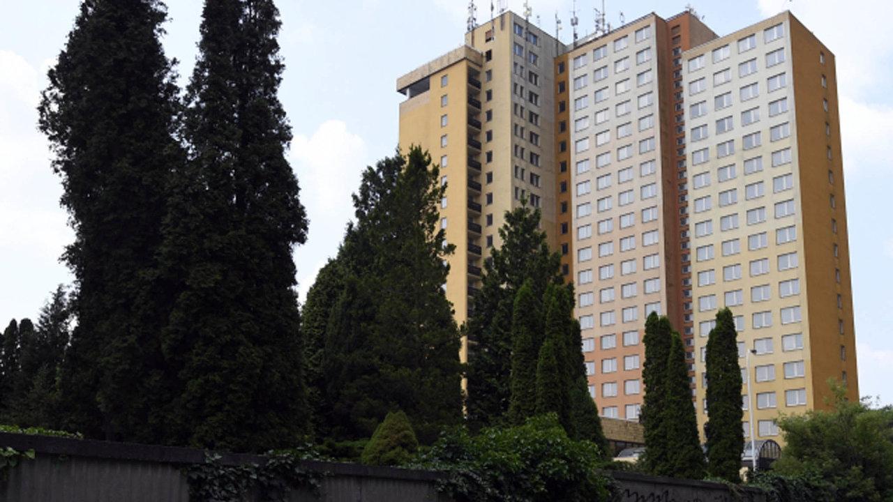 Někdejší hotel Opatov napražském Jižním Městě