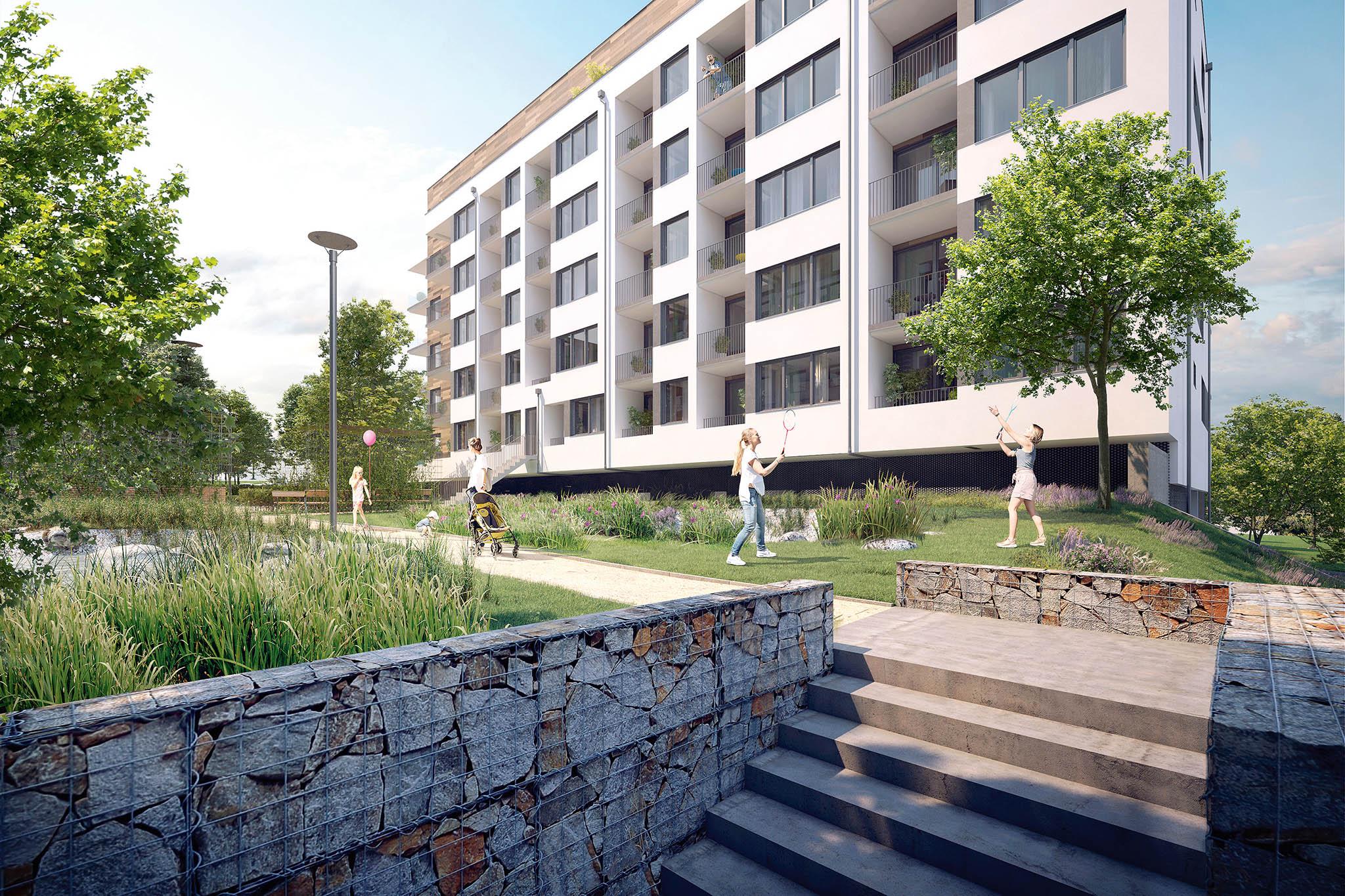 Už vlétě budou napražském Barrandově připraveny knastěhování nové nájemní byty. Projekt odstartoval spolupráci společností Zeitgeist Asset Management a Finep.