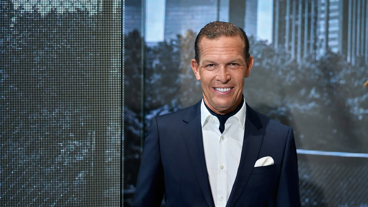 Daniel Grieder. CEO Hugo Boss