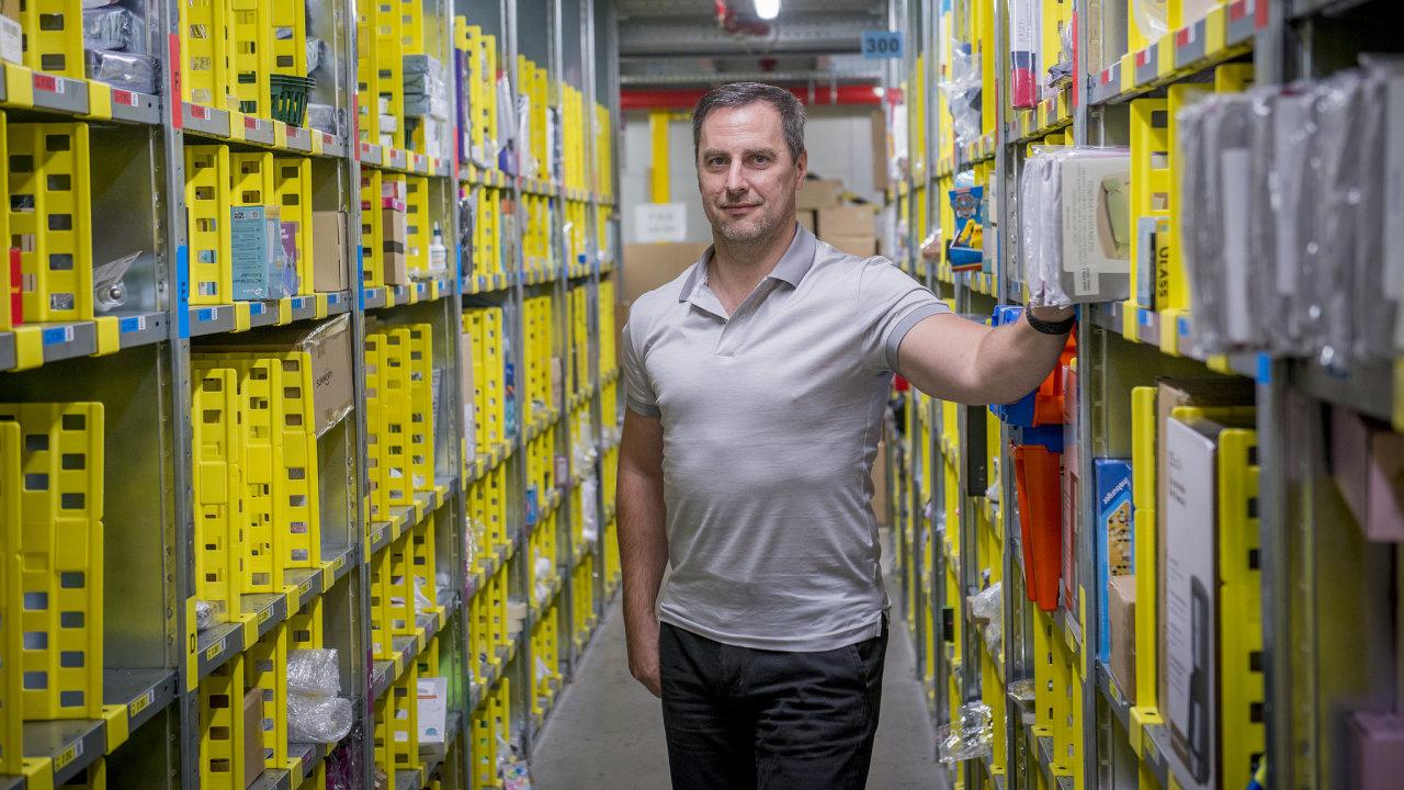 Michal Šmíd, generální ředitel českého Amazonu