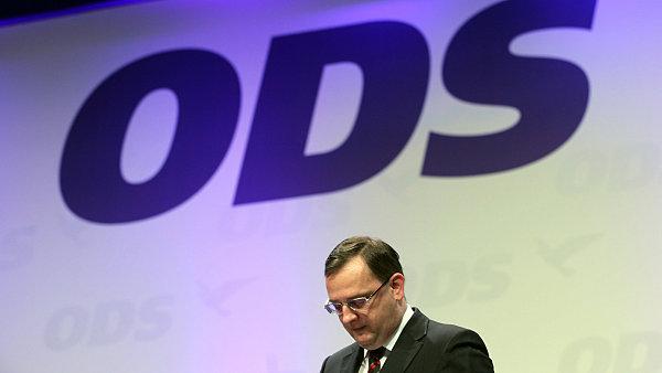 Bývalý předseda ODS Petr Nečas