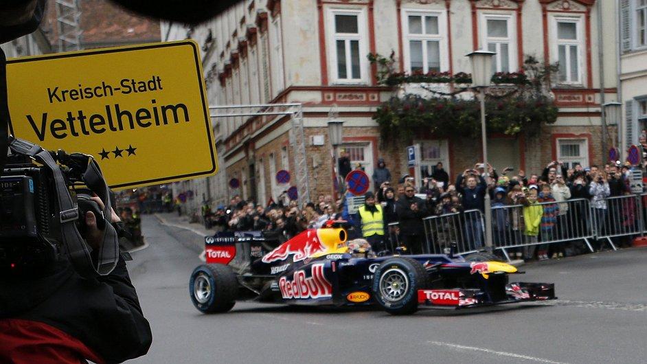 Red Bull slaví v ulicích Grazu