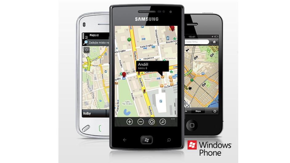 Mobilní aplikace Mapy.cz od Seznamu
