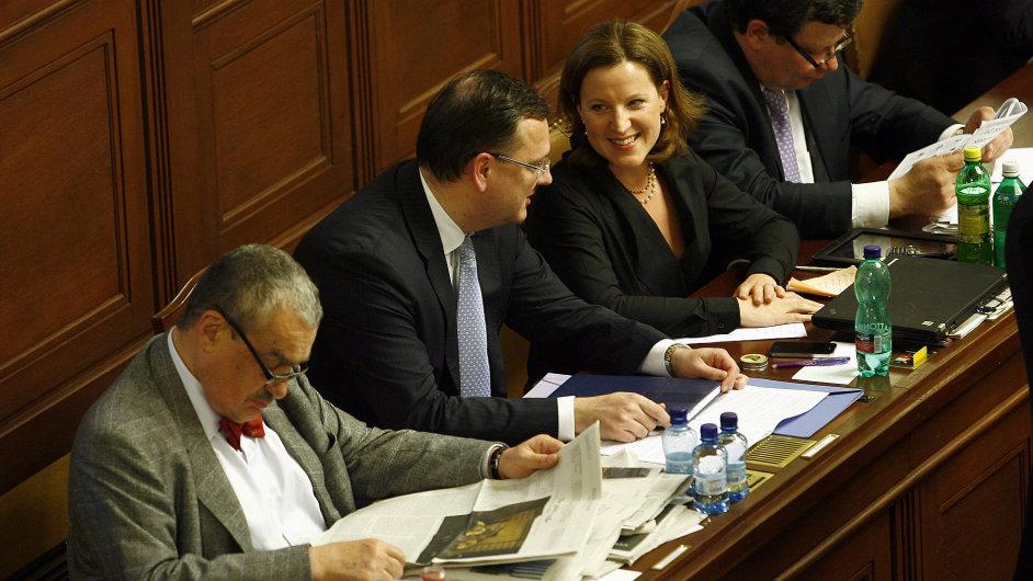 Předsedové koaličních stran - dohodnou se na nové smlouvě?