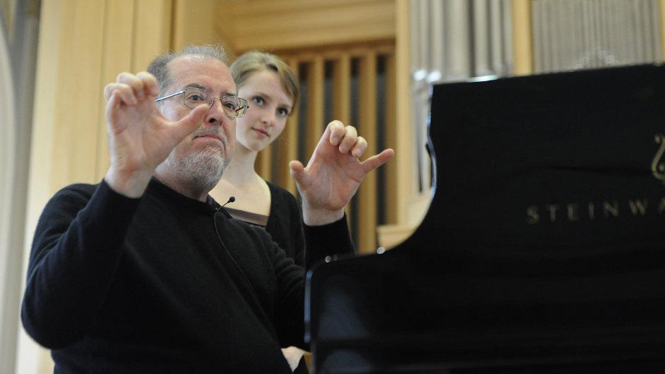 V rámci Pražského jara proběhl i Masterclass s americkým klavíristou Garrickem Ohlssonem