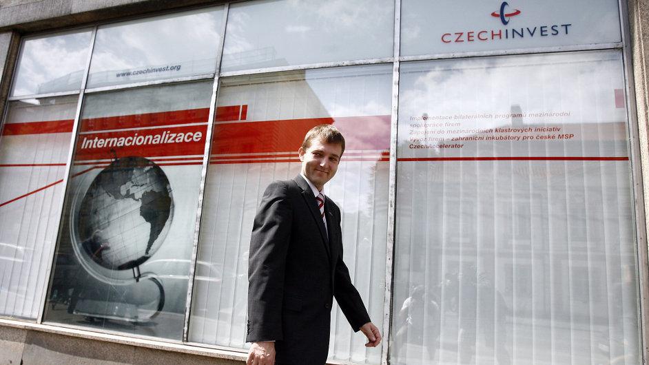 Exředitel CzechInvestu Miroslav Křížek