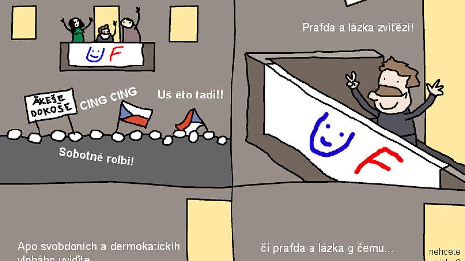 Opráski sčeskí historje na IHNED.cz: Jak se těšit na vítězství