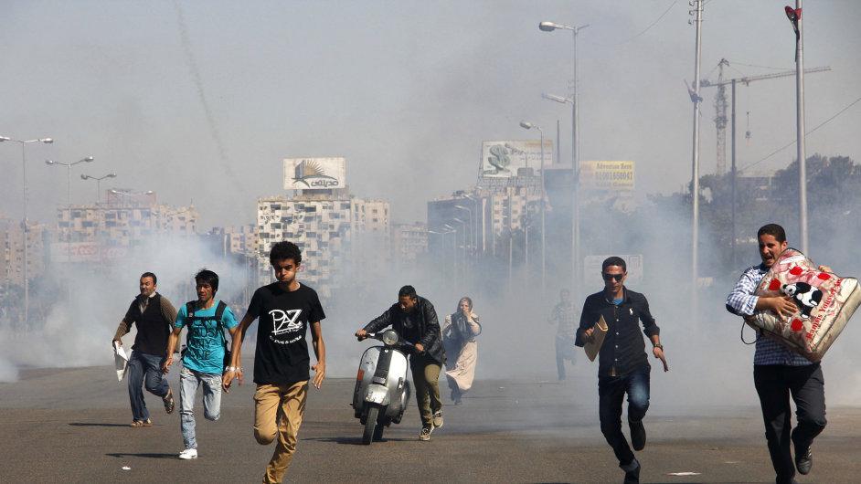 Protesty na egyptské univerzitě Al-Azhar