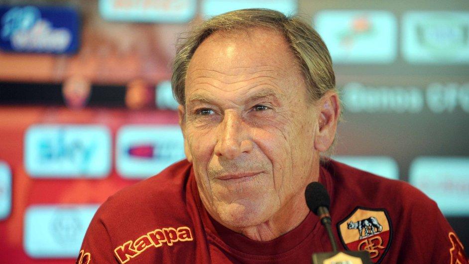 Zdeněk Zeman jako trenér AS Řím