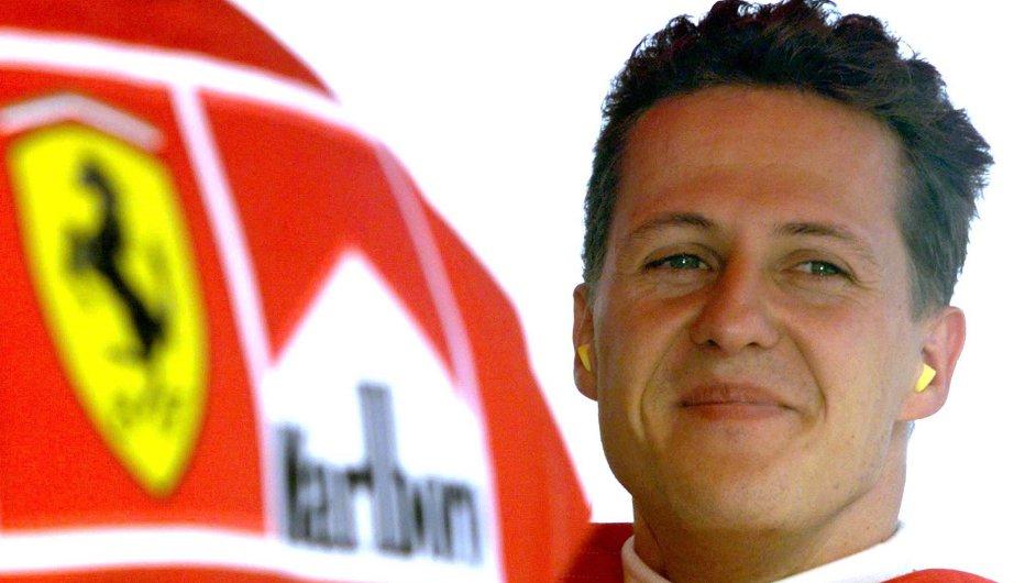 Michael Schumacher jako jezdec Ferrari