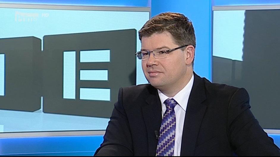 Jiří Pospíšil v pořadu Partie na televizi Prima