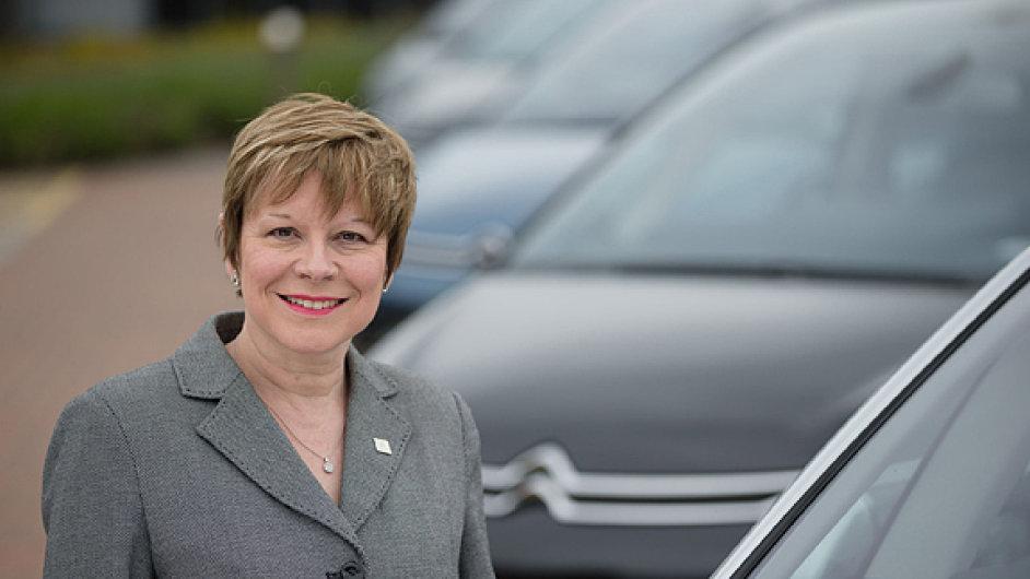 Linda Jackson, generální ředitelka značky Citroën.
