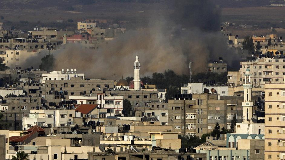 Izrael během úterního odpoledne obnovil nálety na Pásmo Gazy