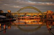 Mosty mezi Newcastle upon Tyne a Gateshead
