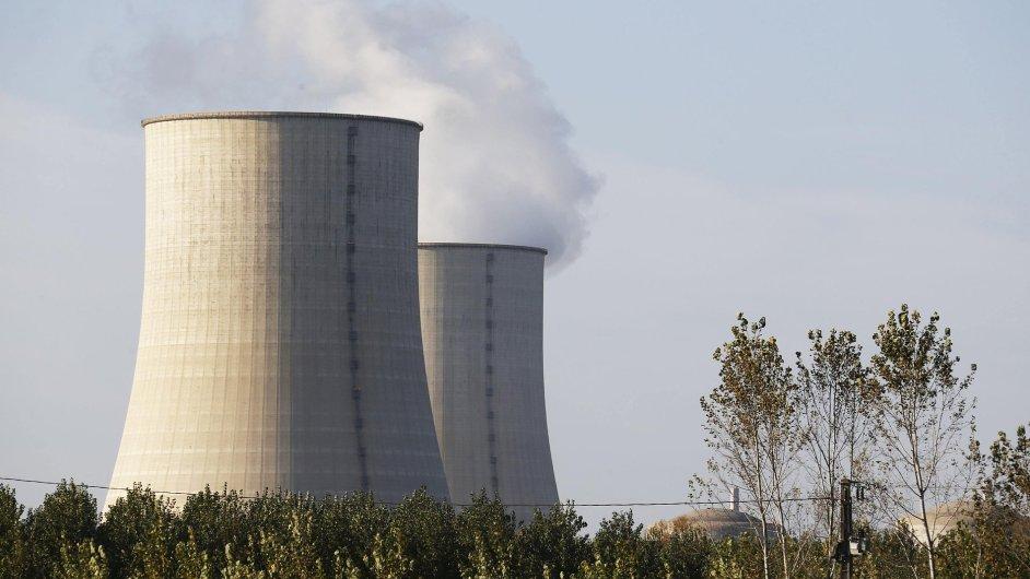 Jaderná elekrárna. Ilustrační foto