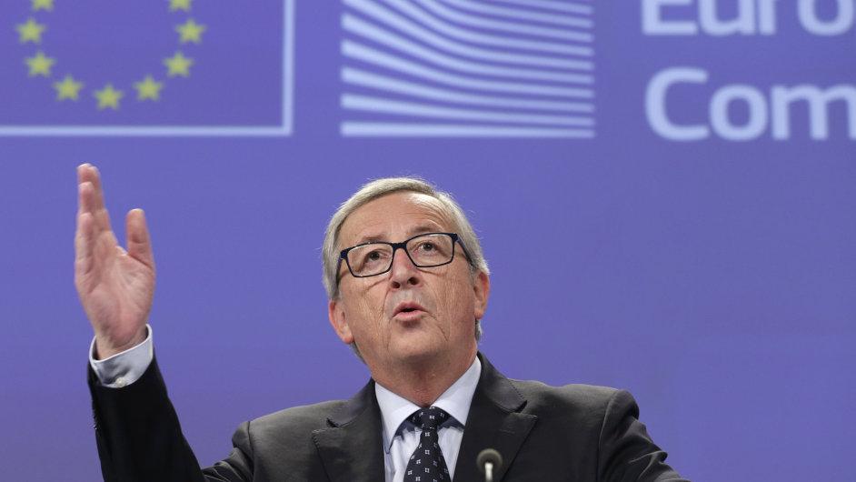 Šéf Evropské komise Jean-Claude Juncker.