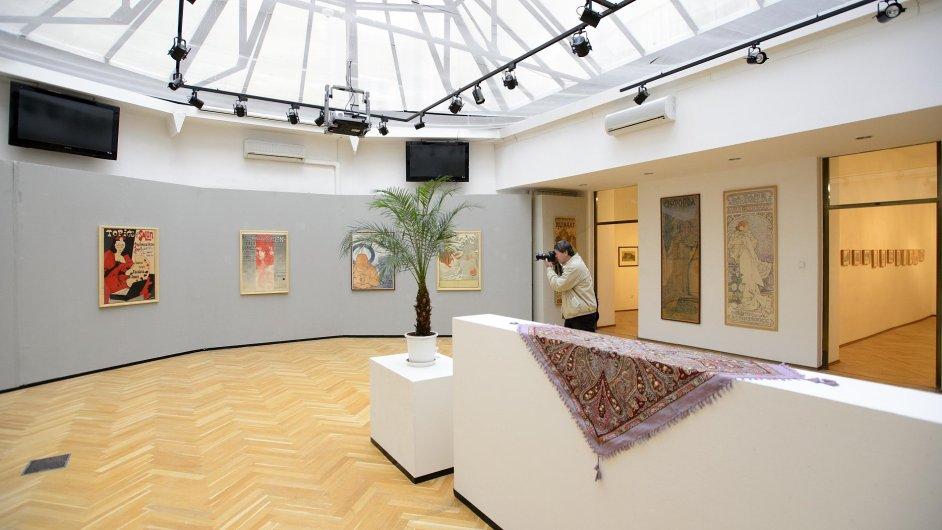 Snímky z výstavy v Topičově salonu