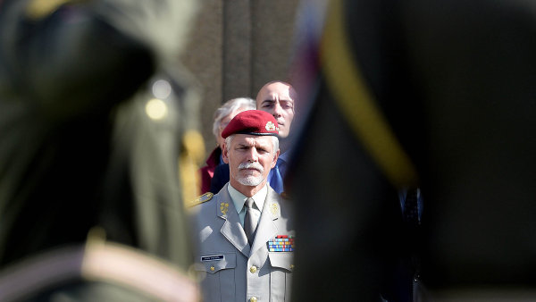 Náčelník generálního štábu české armády Petr Pavel
