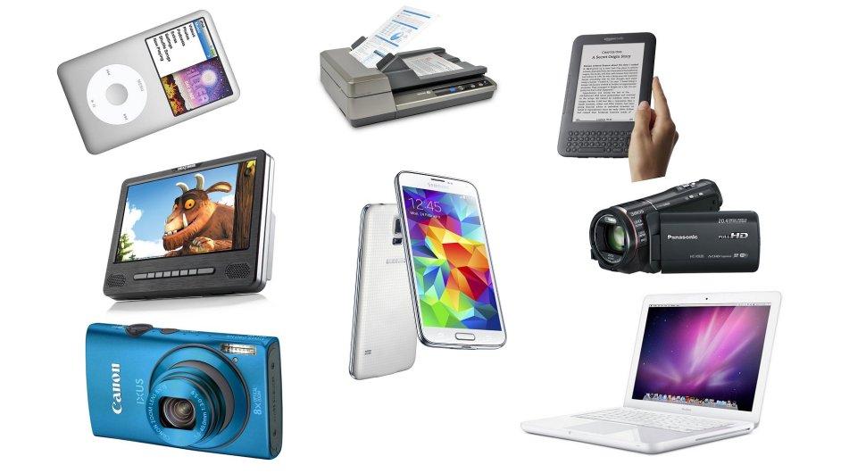 Smartphony nahrazují tradiční elektorniku