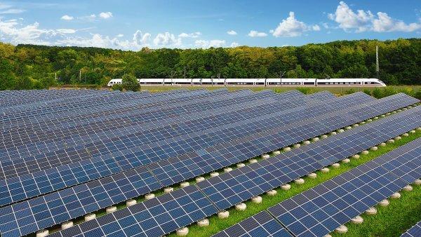 Solární panely - Ilustrační foto.