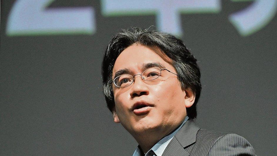 Ředitel společnosti Nintendo Satoru Iwata