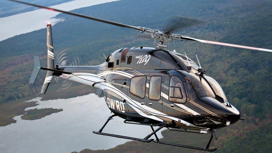 Jedním z nejúspěšnějších vrtulníků Bell je lehký dvoumotorový Bell 429.