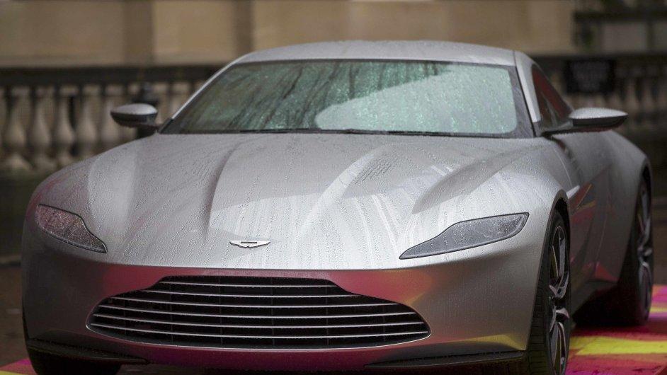 Aston Martin model DB10 při příležitosti nové bondovky Spectre.