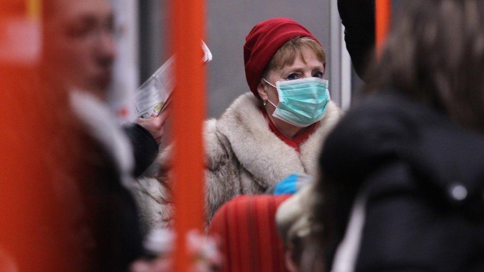 Chřipka - Ilustrační foto.