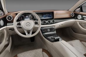 Mercedes odhalil interiér nového E. Inspiroval se u většího sourozence