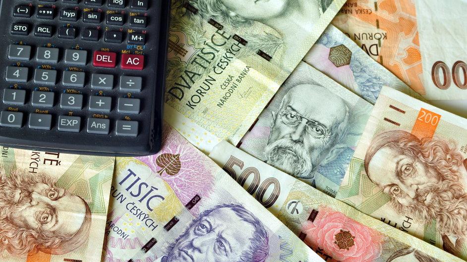 Peníze – ilustrační foto