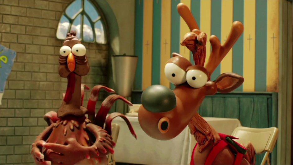 Záběr z filmu Vánoce v ohrožení
