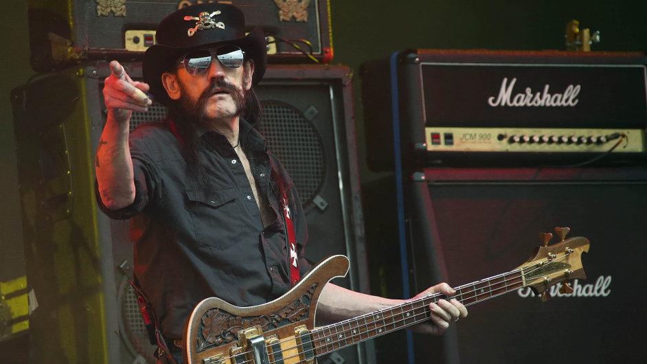 Frontman heavymetalové skupiny Motörhead Lemmy Kilmister.