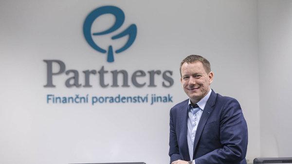 Petr Borkovec, zakladatel poradensk� firmy Partners Financial Services