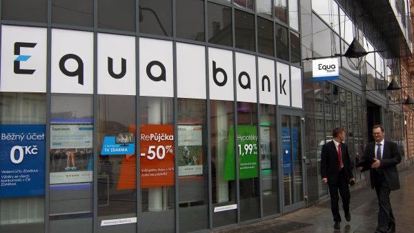Další funkcionality Equa bank plánuje doplnit.