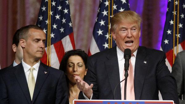Republikánský kandidát na amerického prezidenta Donald Trump.