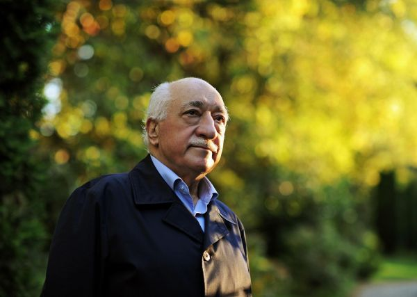 Turecký duchovní Fethullah Gülen.