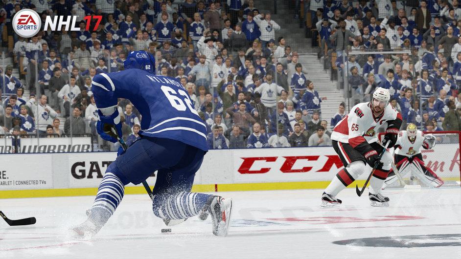 NHL 17 znamená, že přišel podzim.