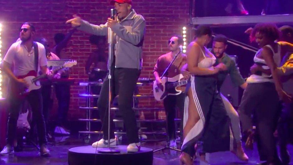 Anderson Paak byl letos jednou z hvězd tuzemského festivalu Hip Hop Kemp.