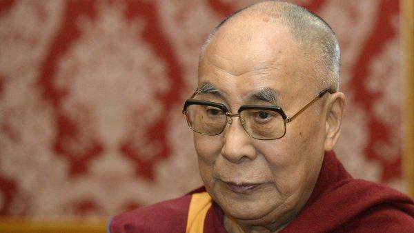 Ministr kultury Daniel Herman se setkal 18. října v Praze s tibetským duchovním vůdcem dalajlamou (na snímku).