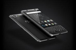 Blackberry se vrací ke klávesnici, model KEYone má v mezerníku zabudovanou čtečku otisků