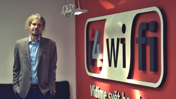 Spolumajitel i4wifi Michala Klečk