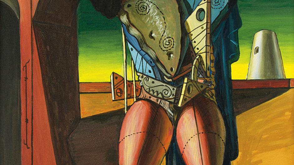 Giorgio de Chirico: Trubadúr, vydraženo za 13,2 milionu korun