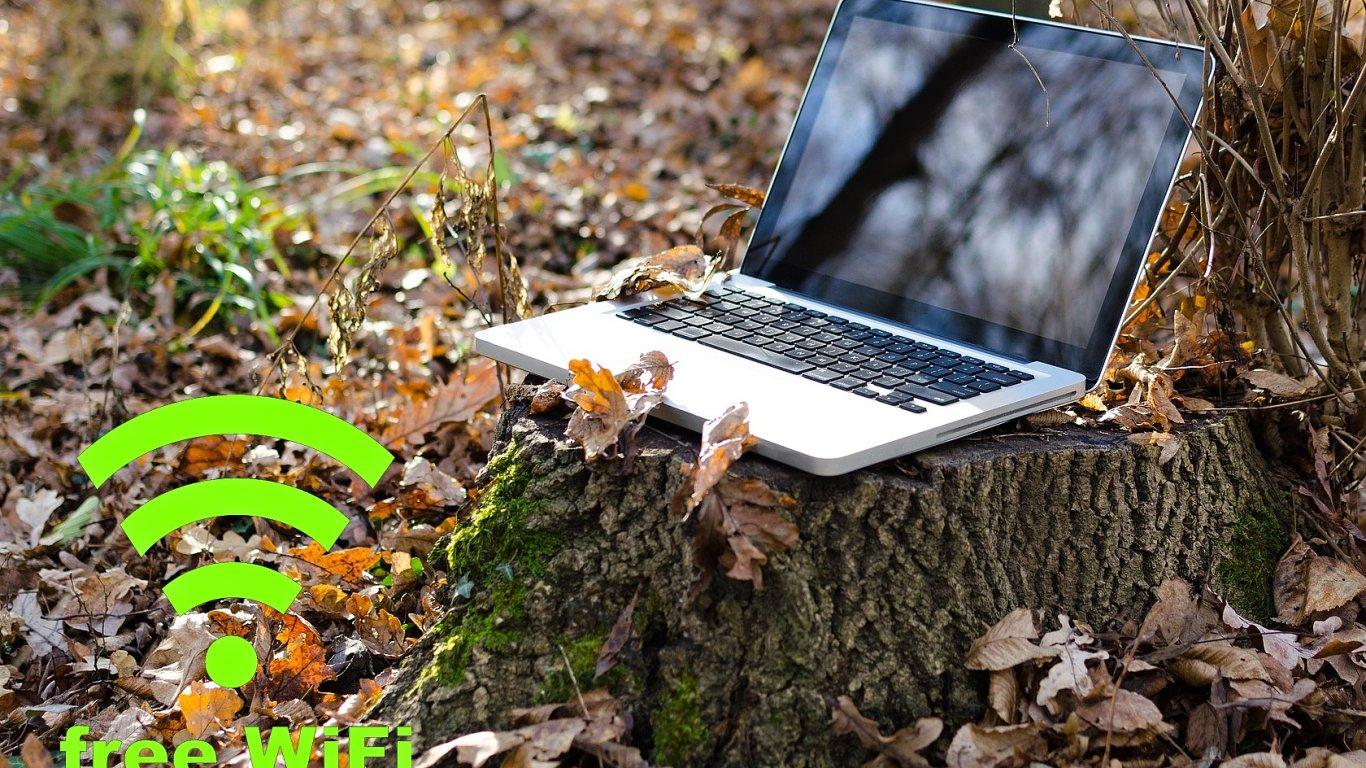 Projekt Wifi4EU přinese rozšíření bezplatného internetu, ilustrace