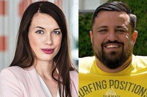 Tereza Kučerová a Zdeněk Čech, manažeři e-shopu Bonami.cz