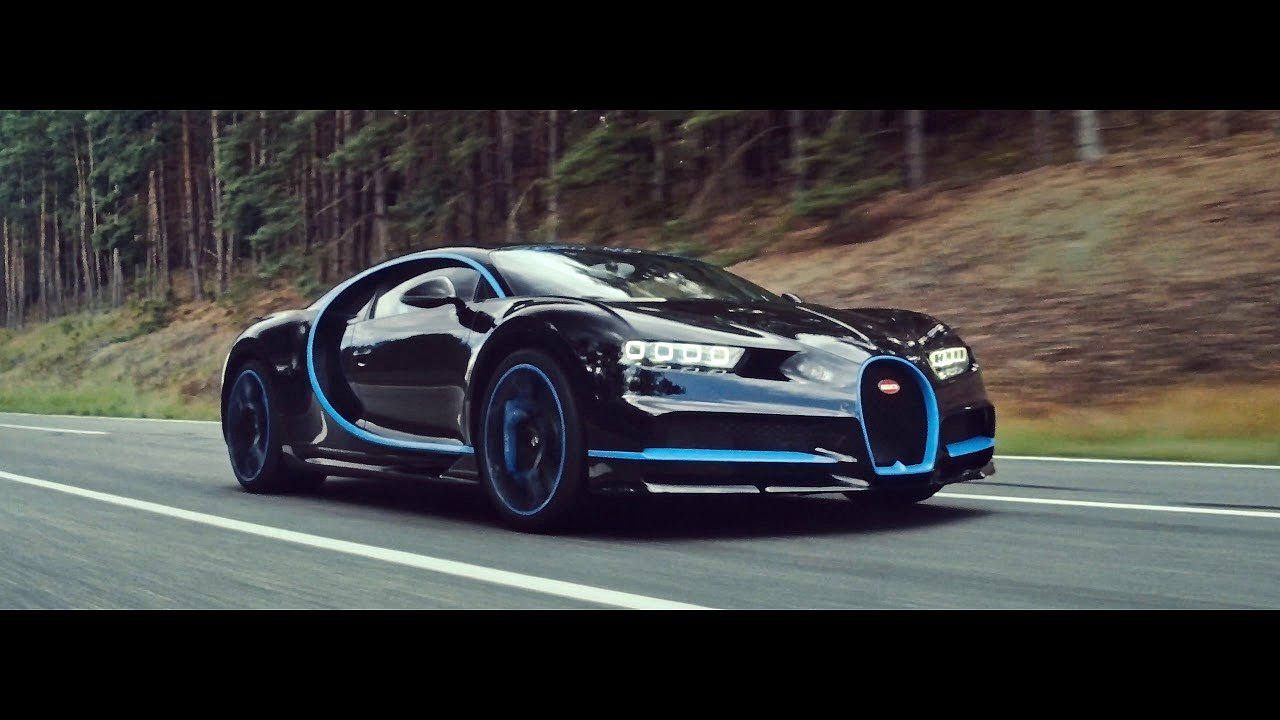 BUGATTI Chiron 0-400-0 km/h in 42 seconds - A WORLD RECORD #IAA2017