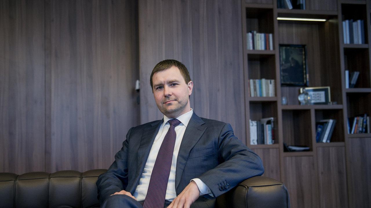 Martin Němeček, generální ředitel a člen představenstva CPI.
