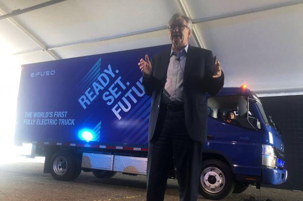 Daimler kamion na elektrický pohon