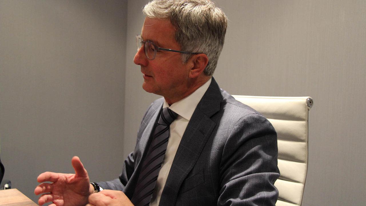 Rupert Stadler, předseda představenstva automobilky Audi.