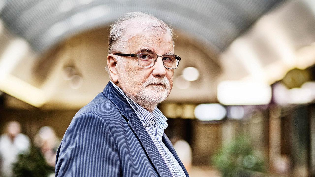 Podnikatel a prezident Svazu průmyslu adopravy Jaroslav Hanák