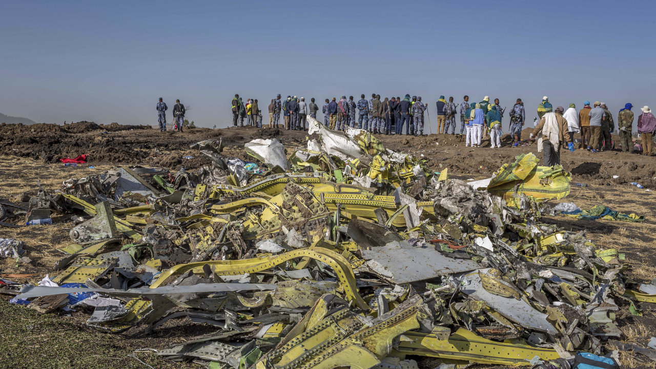 Etiopie, boeing 737 Max, letadlo, havárie